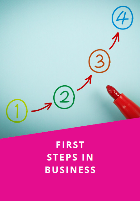 First Steps in Business leaflet